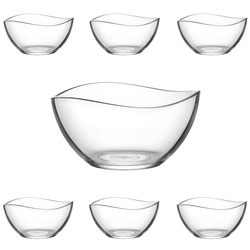 LAV 7 teiliges Glasschalen-Set