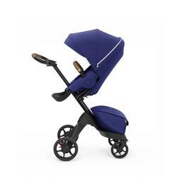 Stokke Sport-Kinderwagen Xplory® X - Multifunktions-Kinderwagen mit schützenden, ergonomischen Sitz blau
