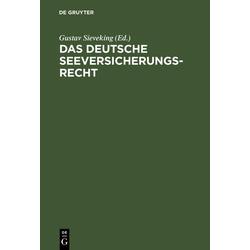 Das deutsche Seeversicherungsrecht: eBook von