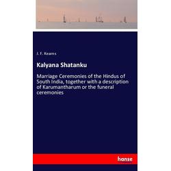 Kalyana Shatanku als Buch von J. F. Kearns