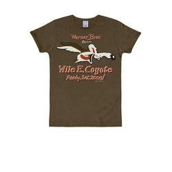 LOGOSHIRT T-Shirt mit Coyote-Print Coyote Looney Tunes bunt S