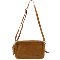 Cowboysbag Umhängetasche Leder 20 cm oak