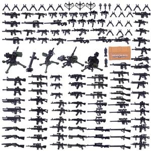 HYZH Ritter Helm, Ritter Weste und Custom Waffen Set, Militär Waffen Set für Ritter Mini Figuren SWAT Team Polizei, kompatibel mit Lego