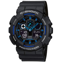 Casio G-Shock Resin 51,2 mm GA-100-1A2ER