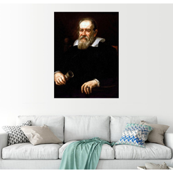 Posterlounge Wandbild, Galileo Galilei 100 cm x 130 cm