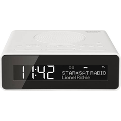 TechniSat DigitRadio 51 Radiowecker DAB+, UKW AUX Weiß