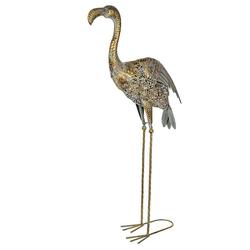 BIRENDY Dekofigur Birendy Riesige schöne Metall Figur Flamingo 95cm WG180228 Gartenfigur Dekofigur