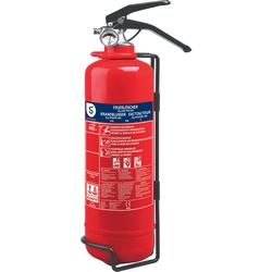 Smartwares Pulver-Feuerlöscher SW BB2, Brandklasse ABC, 2 kg