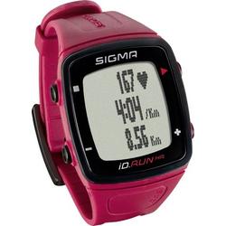 Sigma iD.RUN HR Fitness-Tracker Rot