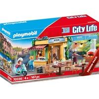 Playmobil City Life Pizzeria mit Gartenrestaurant