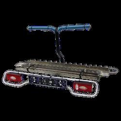 Heckträger Allround für Motorroller