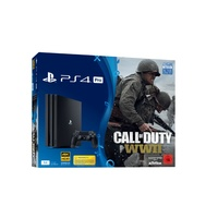 Sony PS4 Pro 1TB schwarz + Call of Duty: WWII + That's You Voucher (Bundle)