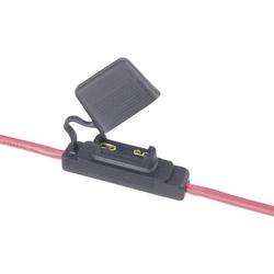 Kfz Flachsicherungs-Halter Flachsicherung Maxi Pole 1 60A 10mm² 1St.