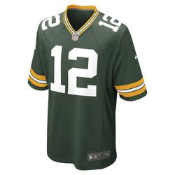 NFL Green Bay Packers (Aaron Rodgers) American Football-Spieltrikot für Herren - Grün, size: S