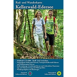 KKV Rad- und Wanderkarte Naturpark Kellerwald-Edersee - Buch