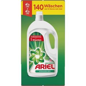 Ariel Universal Waschmittel Flüssig, 7,7 l – 1er Pack (1 x 140 Waschladungen)