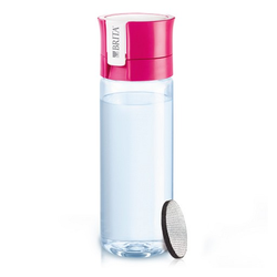BRITA fill & go Wasserfilter-Flasche Vital pink 1 St