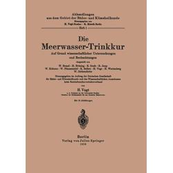 Die Meerwasser-Trinkkur: eBook von Vogt Vogt