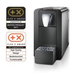 Cremesso Compact One II - Kaffee- und Tee-Kapselmaschine, schwarz