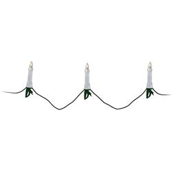 Koopmann Lichterkette Lichterkette, 30 LED Kerzen, 12m, Netzstecker