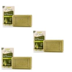 Dalan D Pure Olive Oil Olivenseife pflegende Stückseife 3x200g Seife Soap