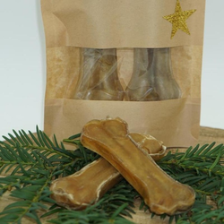 Classic Dog Weihnachtsleckerei Rinderprinten XS - 6 Stück