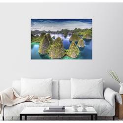Posterlounge Wandbild, Raja Ampat in Indonesien 90 cm x 60 cm