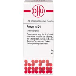 PROPOLIS D 4 Globuli 10 g