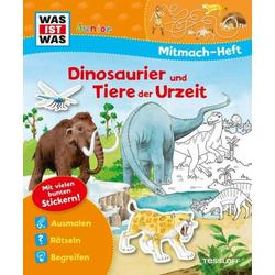 WIW Mitmach-Heft. Dinosaurier und Tier