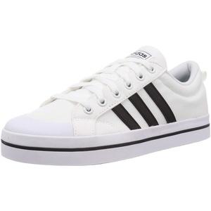 adidas Herren Bravada Sneaker, Cloud White/Core Black/Bright Yellow, 49 1/3 EU