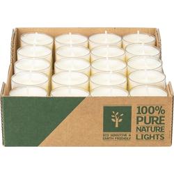 Wenzel-Kerzen Teelicht nachhaltige Teelichter 4h 60 Stück