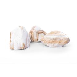 Gabionensteine Marmor Kristall Gelb GS, 60-100, 250 kg Big Bag