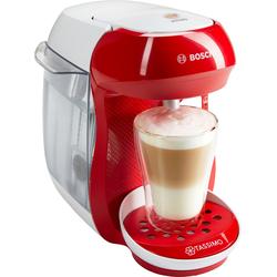 Kapselmaschine  HAPPY TAS1006, Kaffeemaschine, 93741513-0 rot Tassenanzahl: 1 rot