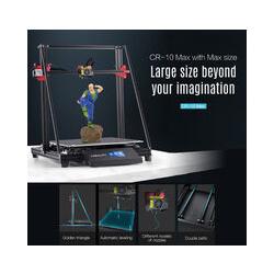 Kit de bricolage pour imprimante 3D de bureau Creality 3D CR-10 Max Grande taille d'impression 450