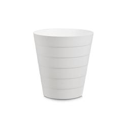 HTI-Living Papierkorb Abfalleimer 13,5 Liter Kunststoff weiß