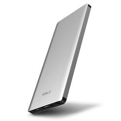 iWalk Chic Powerbank 2 x USB 10.000 mAh Silber
