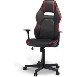 Bürostuhl Spike Gamer Stuhl schwarz + rot Schreibtisch Drehstuhl Chef Sessel