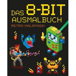 Das 8-Bit-Ausmalbuch: Buch von