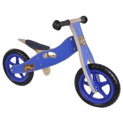 LeNoSa Laufrad Yipeeh • Holz Laufrad für Kinder • 12 Zoll / blau