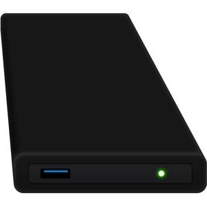HipDisk SW 120GB SSD Externe Festplatte (6,4 cm (2,5 Zoll), USB 3.0) tragbare portable mit austauschbarer Silikon-Schutzhülle stoßfest wasserabweisend schwarz