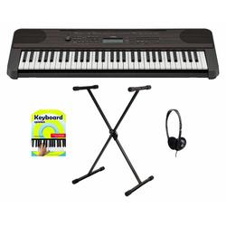 Yamaha PSR-E360 DW Keyboard Starter Set Dark Walnut