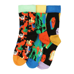 Happy Socks Socken Halloween (3-Paar) 0-12M (0-12M)