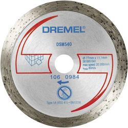 Dremel Fliesen Diamant Trennscheibe DSM 540 2615S540JA Durchmesser 77mm 1St.