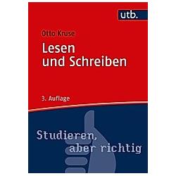 Lesen und Schreiben. Otto Kruse  - Buch
