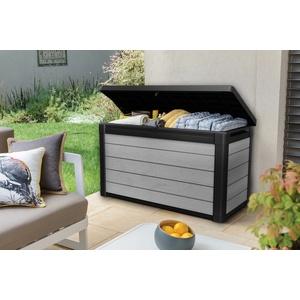 Keter Aufbewahrungsbox Denali 100, 380L, Gartentruhe Gartenbox Kissenbox Truhe