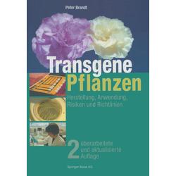 Transgene Pflanzen als Buch von Peter Brandt