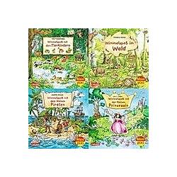 Wimmelbilder  4 Hefte - Buch