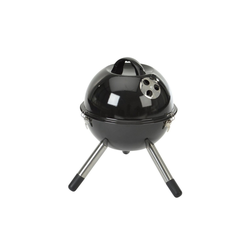 Grillchef Holzkohlegrill, Kugelgrill 46 cm schwarz Style 11120