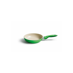 Kelomat Bratpfanne Pfanne Rund Ceramik, Edelstahl (1-tlg) Ø 20 cm