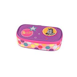 Spiegelburg Stifte Box Bunte Punkte, Schlamperbox für Mädchen